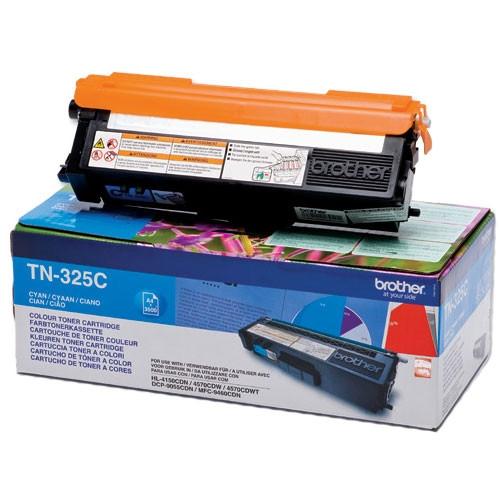 Brother TN-325C Toner Cartridge - Cyan