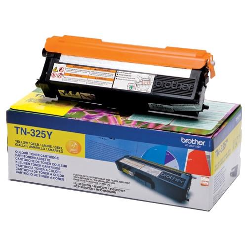 Brother TN-325Y Toner Cartridge - Yellow