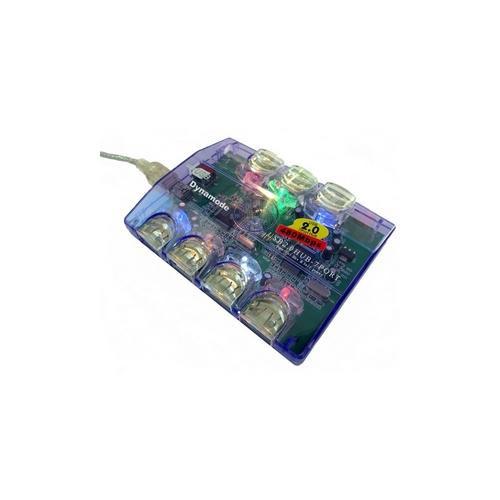 Dynamode USB-H70-1A2.0 USB Hub - USB - External