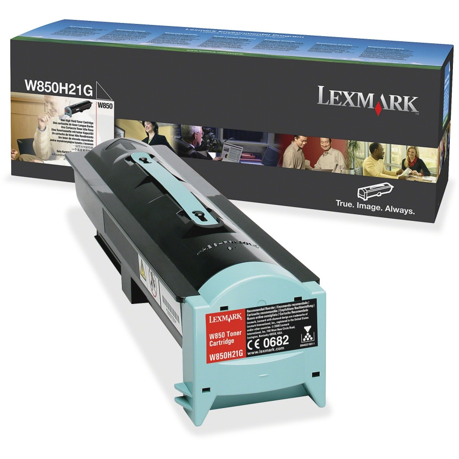 Lexmark W850H21G Toner Cartridge - Black
