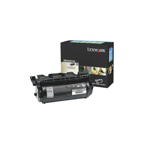 Lexmark X644A11E Toner Cartridge - Black
