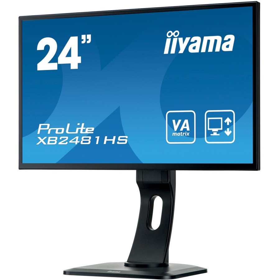 "iiyama ProLite XB2481HS 61 cm (24"") LED Monitor - 16:9 - 6 ms"