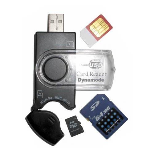 Dynamode USB-CR-31 Flash Reader - USB 2.0 - External