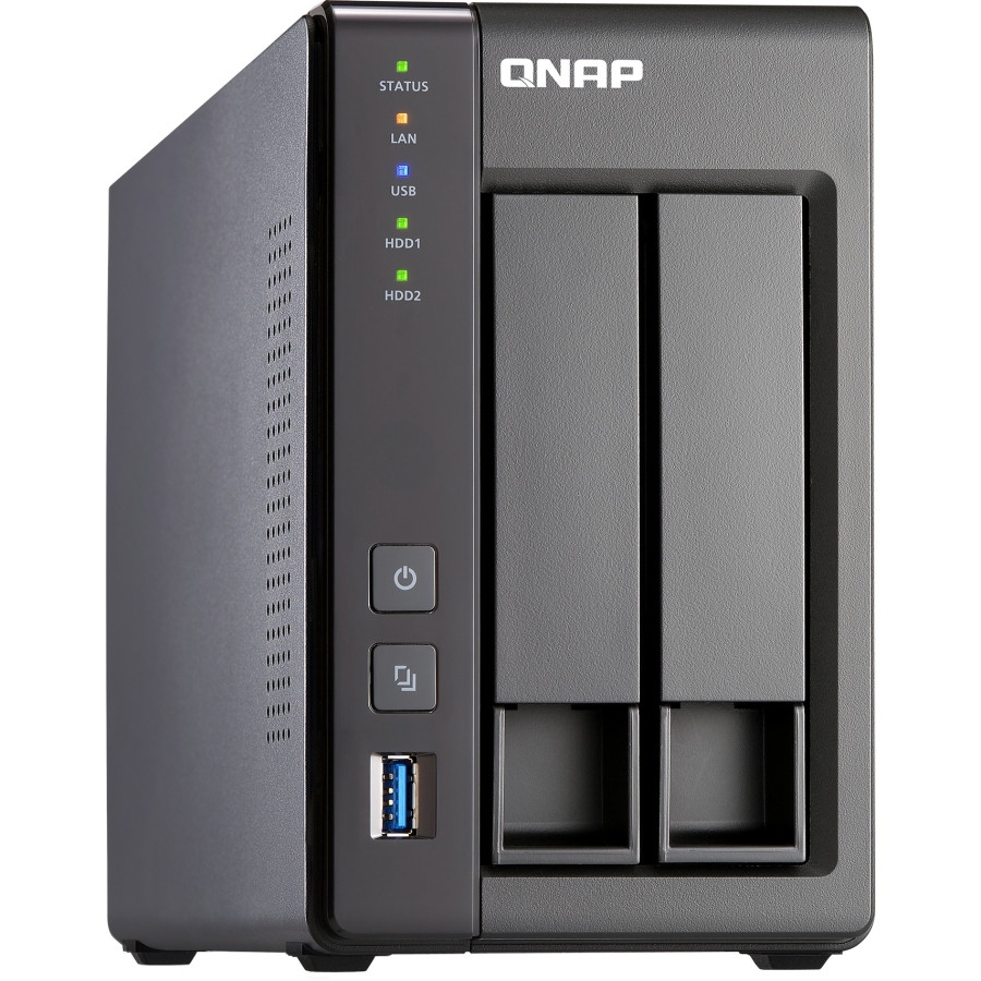 QNAP Turbo NAS TS-251+ 2 x Total Bays NAS Server