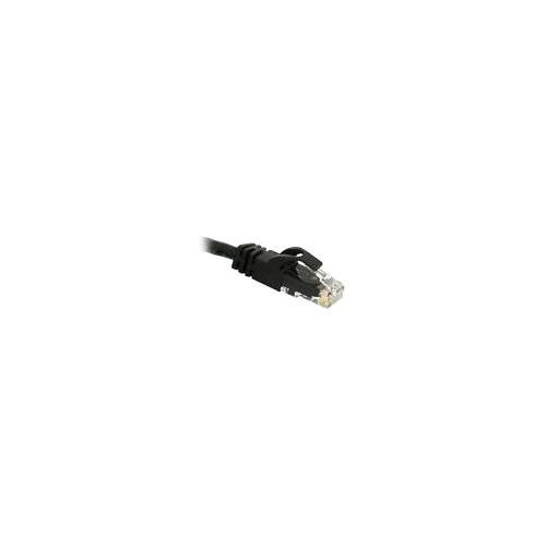C2G 83406 1m Cat6 550 MHz Snagless Patch Cable - Black