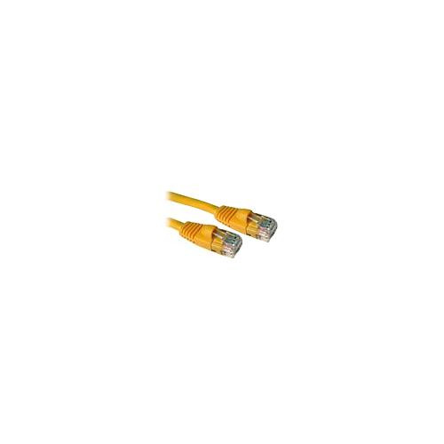 C2G 83243 2m Cat5E 350 MHz Snagless Patch Cable - Yellow