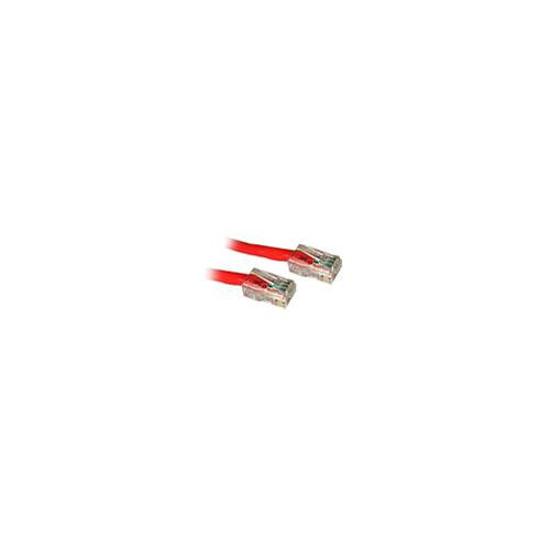 C2G 83080 .5m Cat5E 350 MHz Non-Booted Patch Cable - Red