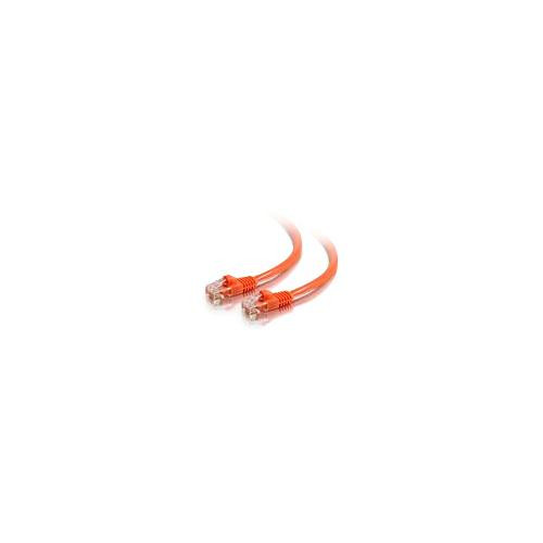 C2G 83604 1.5m Cat5E 350 MHz Snagless Patch Cable - Orange
