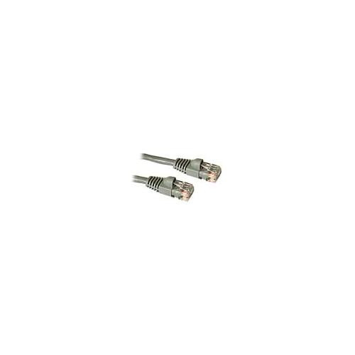 C2G 83140 .5m Cat5E 350 MHz Snagless Patch Cable - Grey