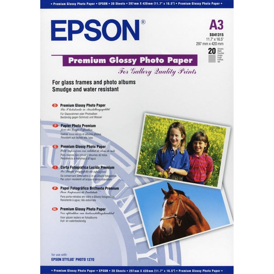 Epson Premium C13S041315 Photo Paper