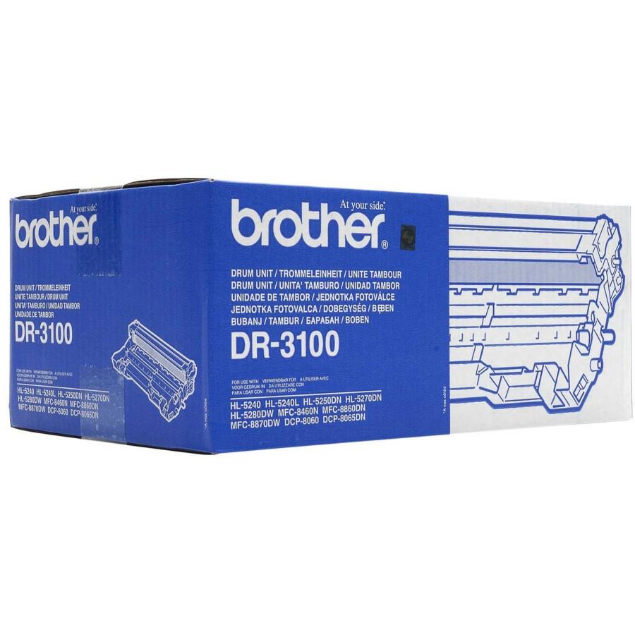 Brother DR-3100 Laser Imaging Drum for Printer - Black