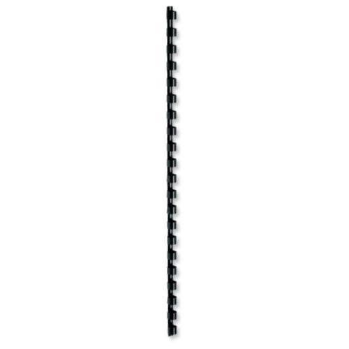 Fellowes Value A4 10mm Binding Combs - Black (Pack of 100)