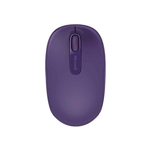 Microsoft 1850 Mouse - Wireless - Purple