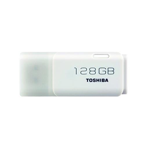 Toshiba TransMemory U202 128GB USB Flash Drive USB 2.0 - White - THN-U202W1280E4