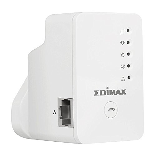 Edimax EW-7438RPn Mini N300 Smart Wireless Range Extender with Network Port (Free App Android/IoS)