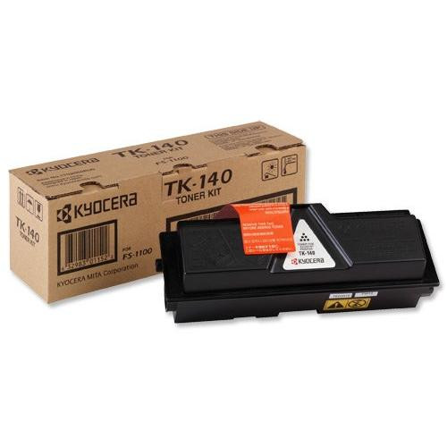 Kyocera Laser Toner Cartridge Page Life 4000pp Black Ref TK-140