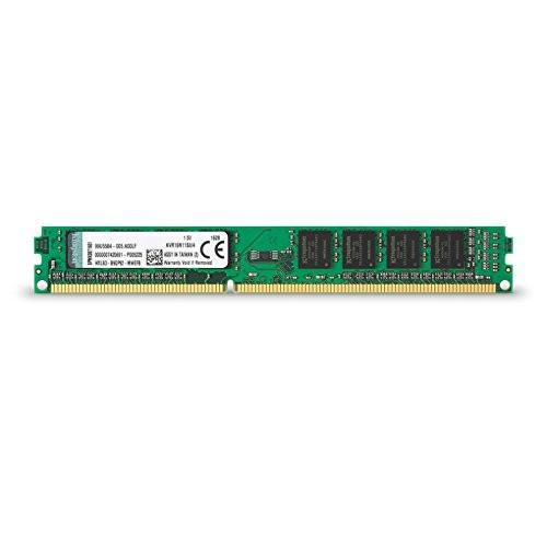 Kingston KVR16N11S8/4 RAM 4 GB 1600 MHz DDR3 Non-ECC CL11 DIMM 240-Pin, 1.5 V Memory Module