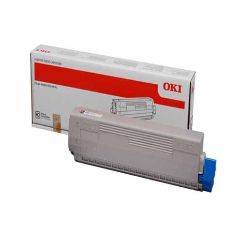 OKI C822 Toner Cartridge - Black