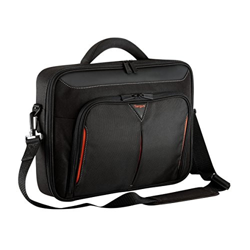 """Targus Classic+ CN415EU Carrying Case for 39.6 cm (15.6"""") Notebook - Black, Red"""
