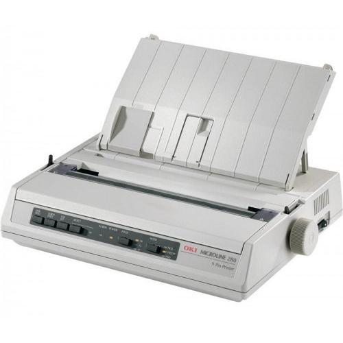 OKI Microline 280 Elite (Parallel) A4 Mono Dot Matrix Printer