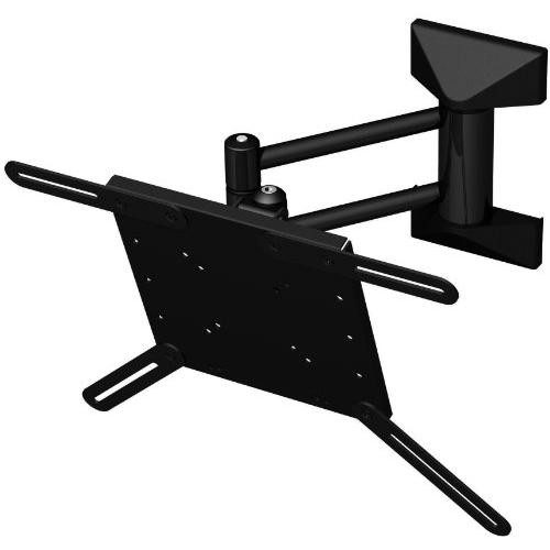 PMV Mounts Medium Sized Universal Twin Arm Articulating Wall Mount for Screens from 21 to 31 inch