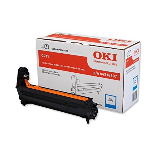 Oki 44318507 LED Imaging Drum - Cyan