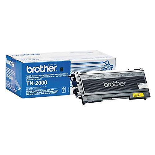 Brother Original TN2000 Black Toner