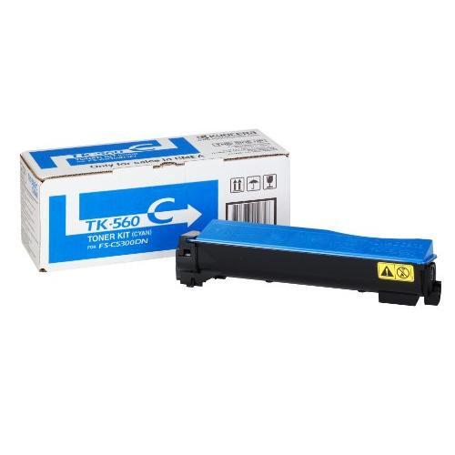 Kyocera Laser Toner Cartridge Page Life 10000pp Cyan Ref TK560C 879193