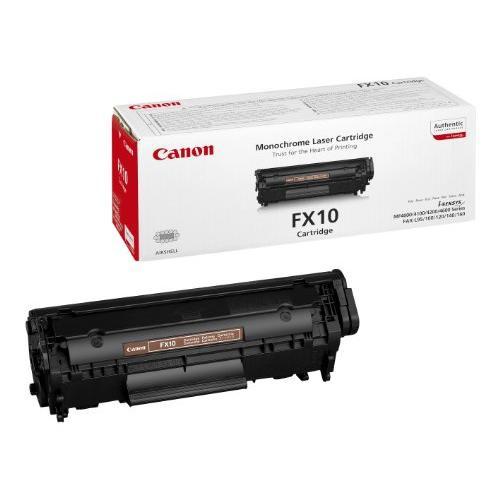 Canon FX 10 FX-10 fax laser toner cartridge for L100 / L120 Fax MF 4120 / 4140 / 4150 black FX10