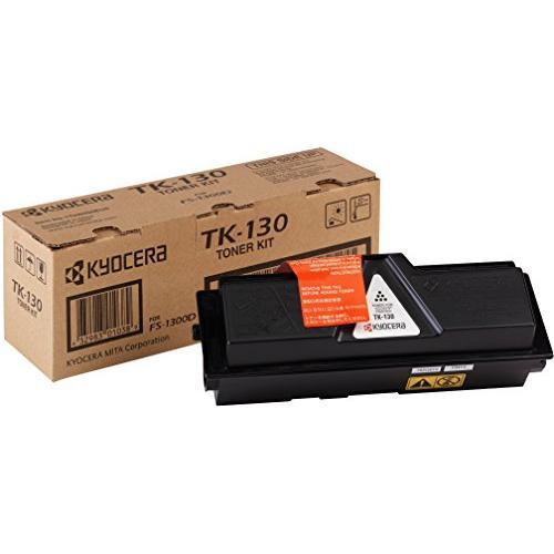 Kyocera Laser Toner Cartridge Page Life 7200pp Black [for FS-1300D] Ref TK-130 875703