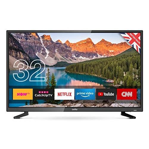 Cello C32Sfs 32 Superfast Smart LED TV with Wi-Fi and Freeview T2 HD