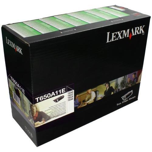 Lexmark 0T650A11E Toner Cartridge - Black