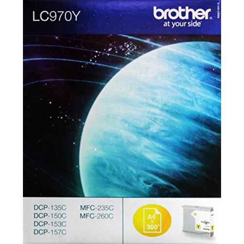 Brother Original LC970BY Yellow Ink Cartridge