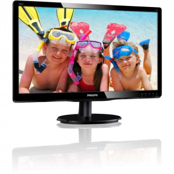 "Philips V-line 200V4QSBR 49.6 cm (19.5"") LED Monitor - 16:9 - 8 ms"
