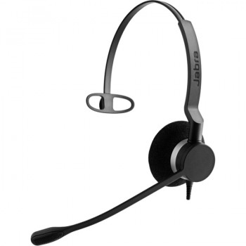 Jabra BIZ Wired Mono Headset - Over-the-head - Supra-aural