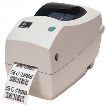 Zebra TLP 2824 Plus Direct Thermal/Thermal Transfer Printer - Monochrome - Desktop - Label Print