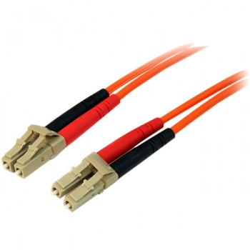 StarTech.com 2m Multimode 50/125 Duplex Fiber Patch Cable LC - LC