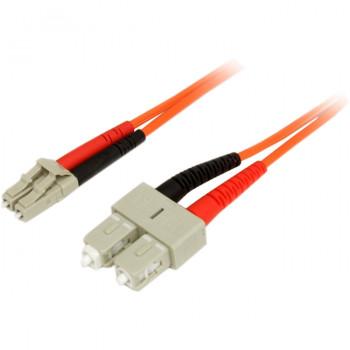 StarTech.com 2m Multimode 50/125 Duplex Fiber Patch Cable LC - SC