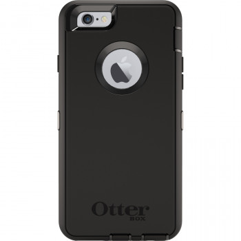 OtterBox Defender Carrying Case (Holster) for iPhone 6S - Black