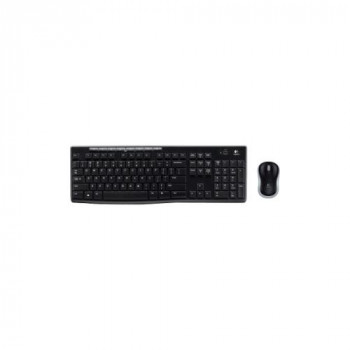 LOGITECH 920-004510 Wireless Combo MK270 - Keyboard and Mouse set 2.4GHZ - FRENCH LAYOUT - (Keyboards Keyboards)