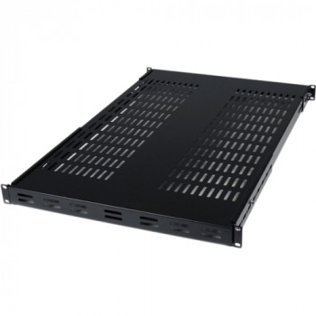 StarTech.com 1U Adjustable Mounting Depth Vented Rack Mount Shelf - 175lbs / 80kg