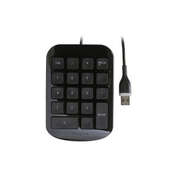 Targus AKP10EU Keypad - Cable Connectivity - Black, Grey