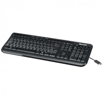 Microsoft 600 Keyboard - Cable Connectivity - Black