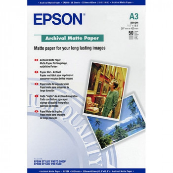 Epson Archival C13S041344 Photo Paper