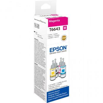 Epson T6643 Ink Refill Kit - Magenta - Inkjet