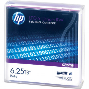 HP Data Cartridge LTO-6 - Labeled - 1 Pack