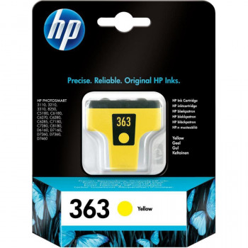 HP 363 Yellow Ink Cartridge with Vivera Ink