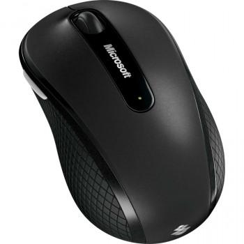 Microsoft 4000 Mouse - Wireless - 4 Button(s) - Graphite