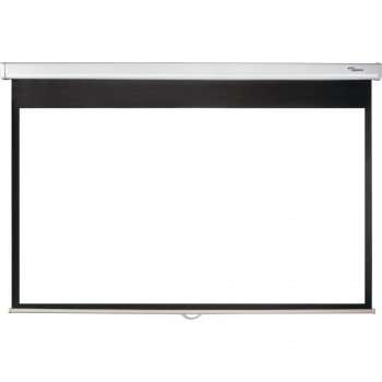 "Optoma Manual Projection Screen - 233.7 cm (92"") - 16:9 - Wall Mount, Ceiling Mount"