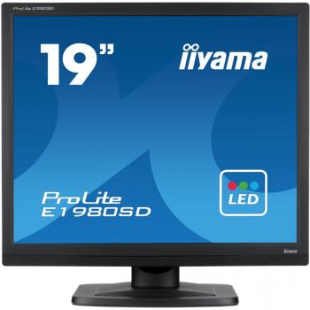 "iiyama ProLite E1980SD 48.3 cm (19"") LED Monitor - 5:4 - 5 ms"